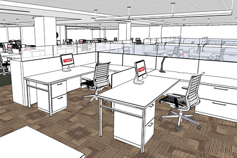 Colgate Drawing Office Furniture