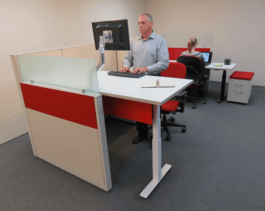 davies refurbished standing desk