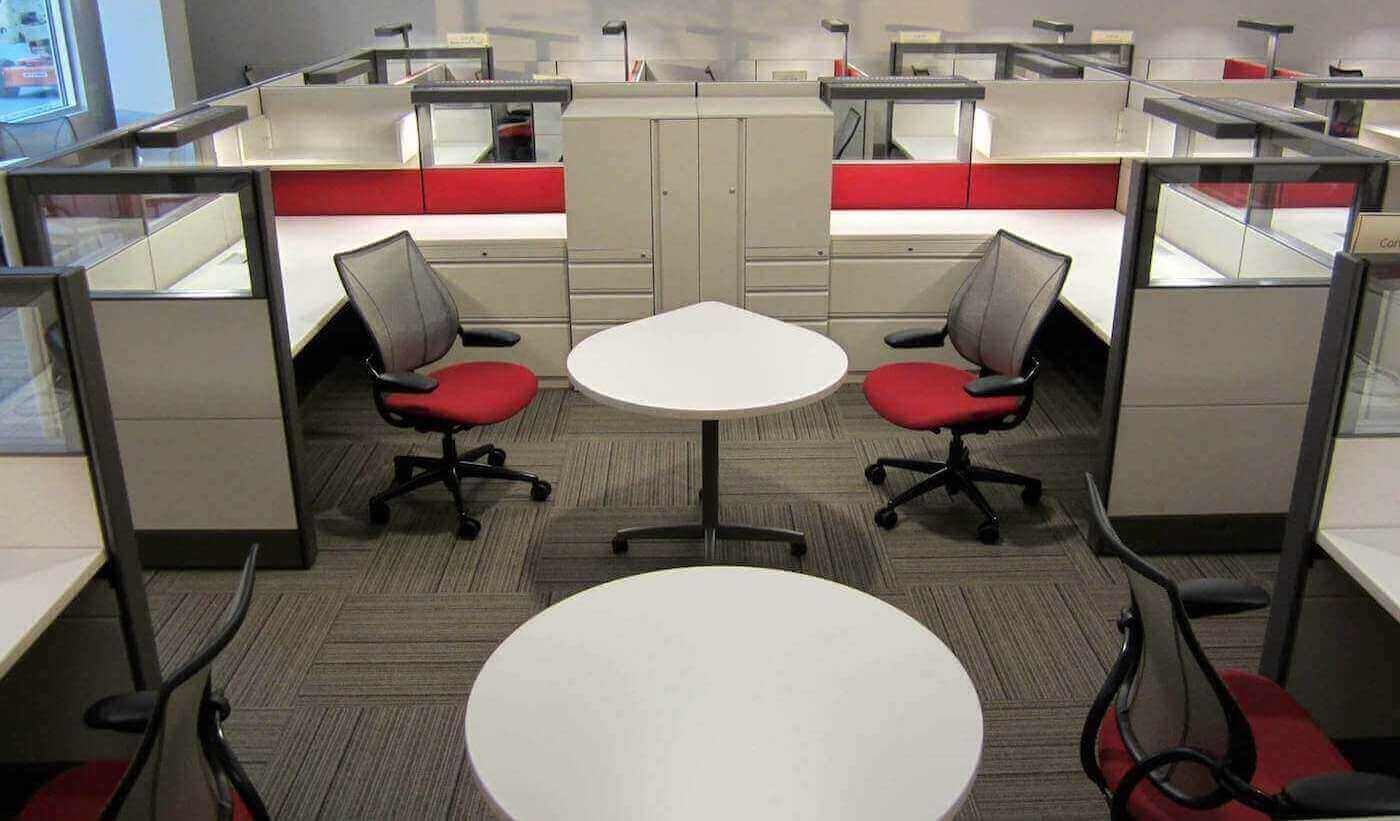 Refurbished Herman Miller Workstations