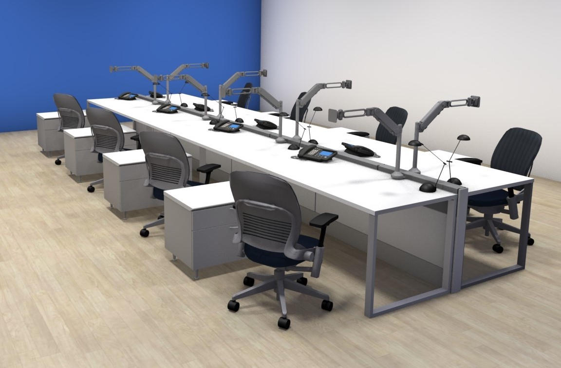 remanufacture hot desking solutions