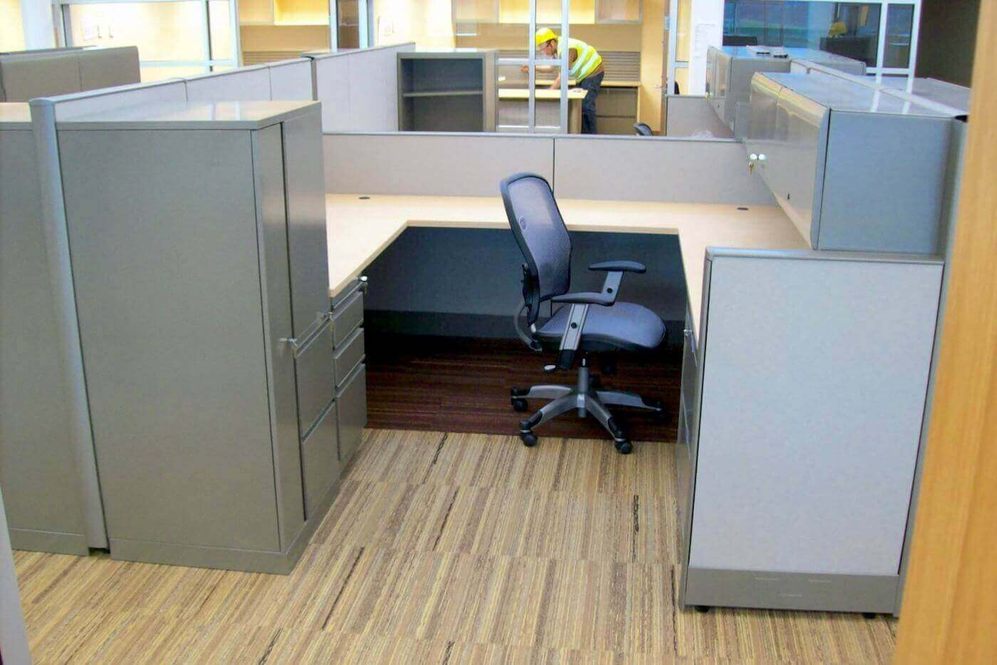 remanufactured knoll office furniture
