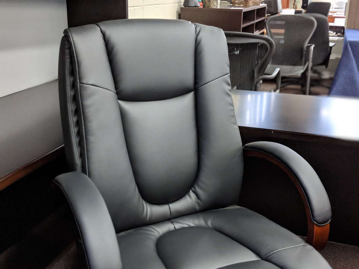 remanufactured office conference chairs