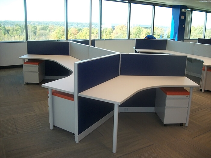 Haworth Places Cubicles