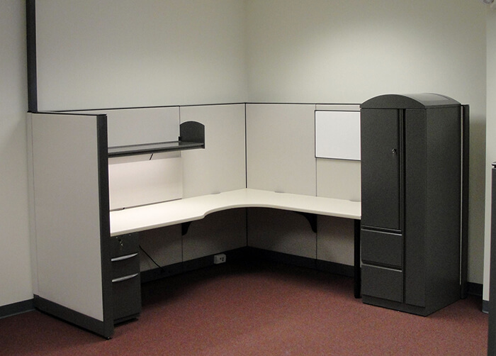 Remanufactured Haworth Workstations Cubicles Davies Office - Haworth conference table