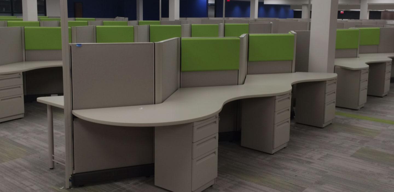Herman Miller Office Desk. Herman Miller Action Office 2 (ao2) Desk