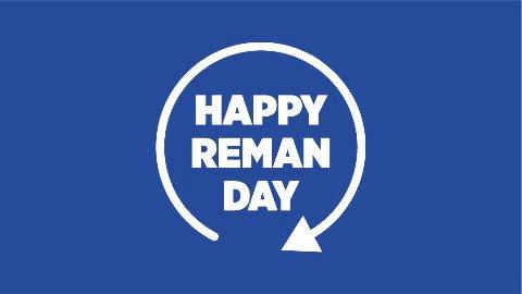 Happy Reman Day Logo