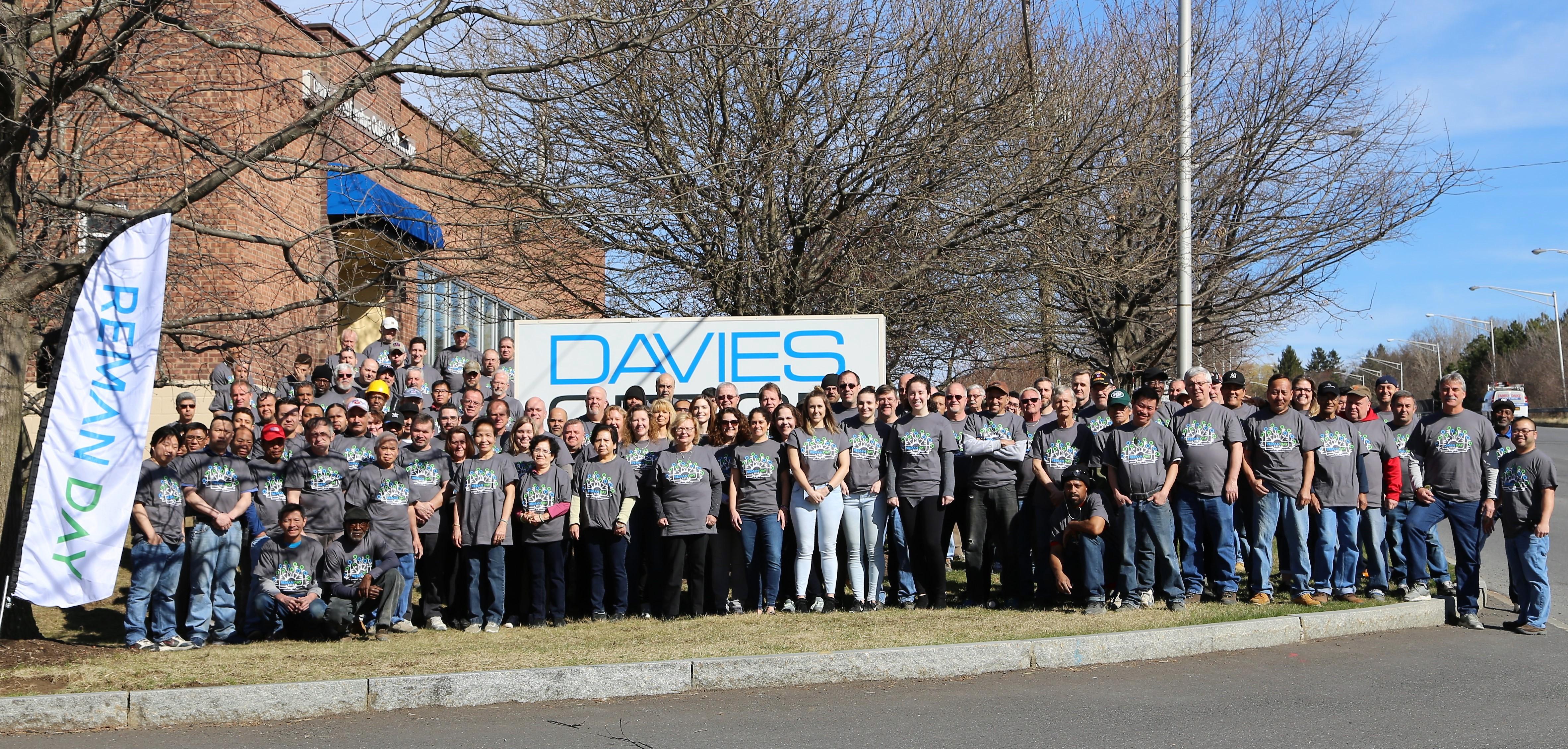 Team Davies Reman Day 2019 Photo