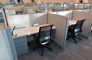 new COVID-19 office furniture layout