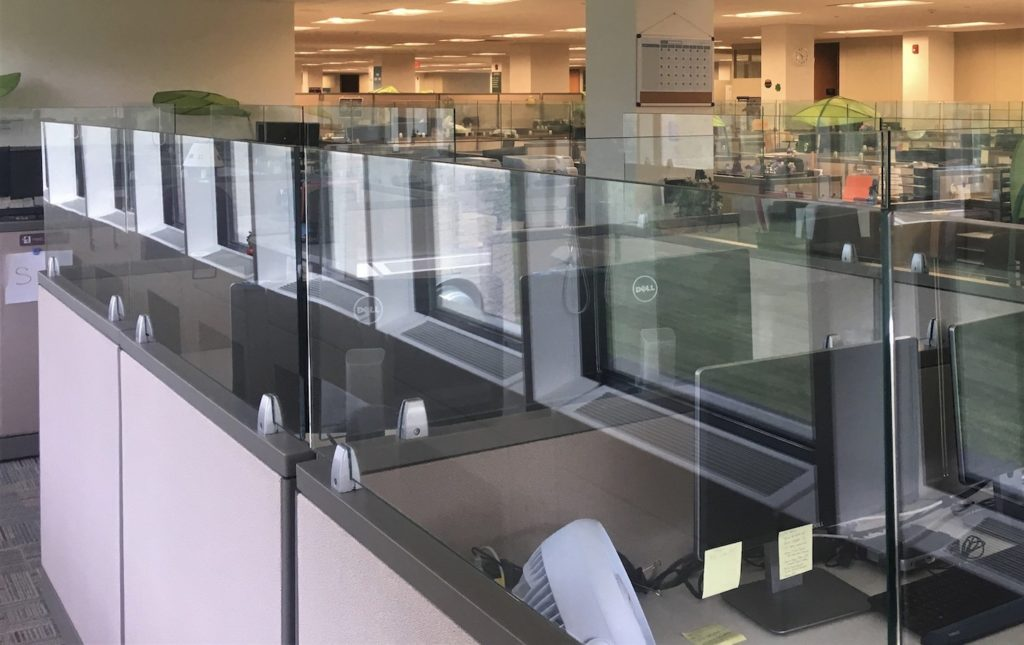 Steelcase Avenir workstation dividers